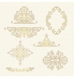 Elegant element for design vector