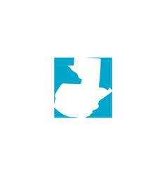 Guatemala map logo icon sign design element vector