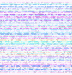 neon triangle seamless pattern vector image
