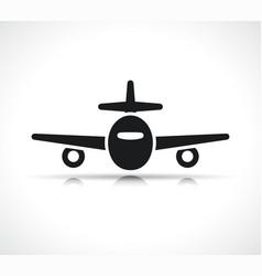 plane symbol icon design vector image