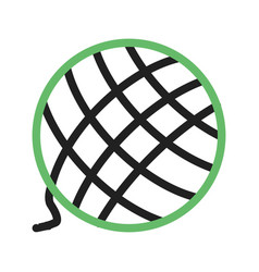 Wool ball vector