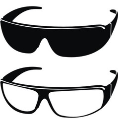 sports sunglasses vector image vector image