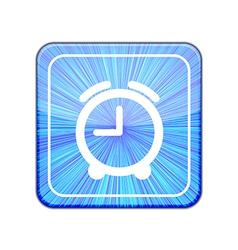 version Clock icon Eps 10 vector image vector image