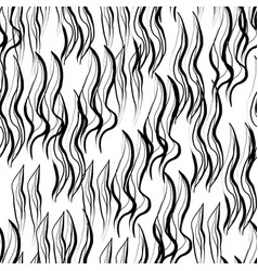 Ink hand drawn abstract seamless pattern vector