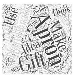 Handicraft gift word cloud concept vector