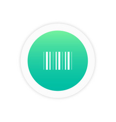 barcode icon sign vector image