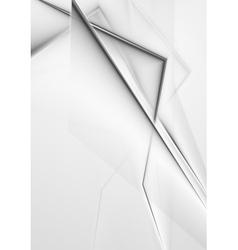 Elegant grey background vector image vector image