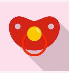 girl nipple icon flat style vector image