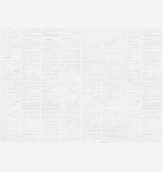Old vintage grunge newspaper paper texture vector