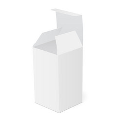 Packaging box for drug vector