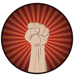Raise your hand vector