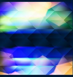 Blue polygonal hexagonal elements vector