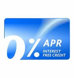 credit free card vector image