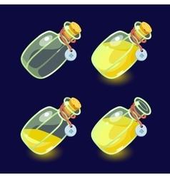 Game icon of magic elixir vector