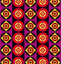Acid disco pattern vector image vector image