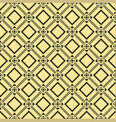 abstract art deco golden geometric pattern vector image