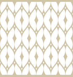 subtle golden mesh seamless pattern delicate net vector image