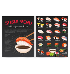 Sushi bar munu vector