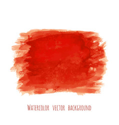 bloody red watercolor texture background vector image