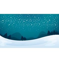 Snowfall vector
