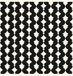 art deco seamless pattern monochrome geometric vector image