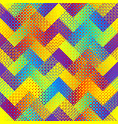 Geometric abstract pattern polka dot pattern on vector