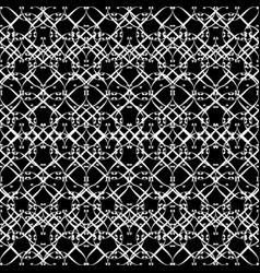 Lacy pattern in black and white vector