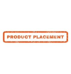 Product Placement Rubber Stamp vector