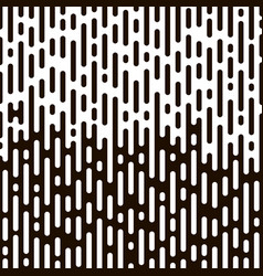 rounded lines pattern vector image