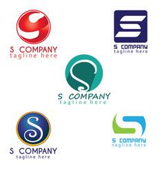 S logo design inspiration vector
