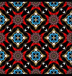 Tribal ethnic style paisley seamless vector