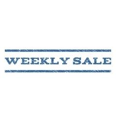 Weekly Sale Watermark Stamp vector