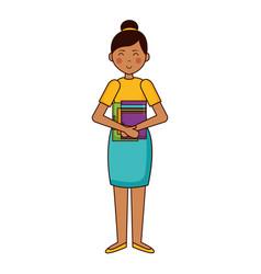 woman teachers day vector image