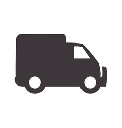 truck to transportation delivery and logistic vector image