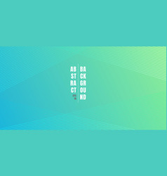 abstract blue and green vibrant color gradient vector image