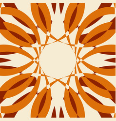 abstract sun shine background vector image