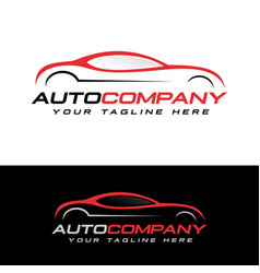 automotive logo vector image
