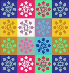Cheerful pattern Spring patterns vector