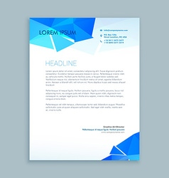 Creative letter document vector