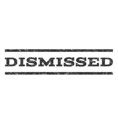 Dismissed Watermark Stamp vector