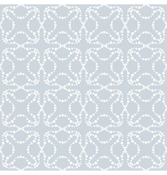 Dots ornaments - seamless pattern vector image