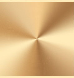 Gold plate with a conical gradient vector