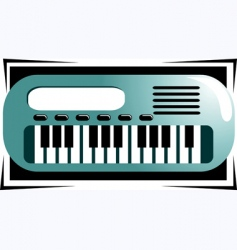 key board vector image