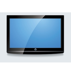 lcd screen vector image