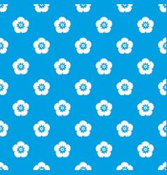 rose of sharon korean flower pattern seamless vector image