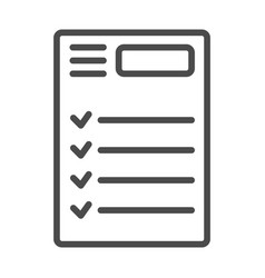 To do list icon vector