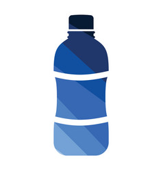 water bottle icon vector image