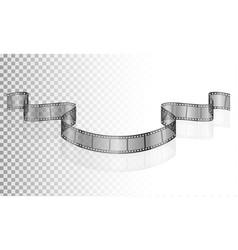 cinema film transparent stock vector image