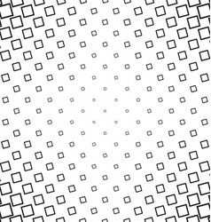 Abstract black white angular square pattern design vector