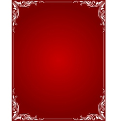 Decorative Border Style 3 vector image vector image